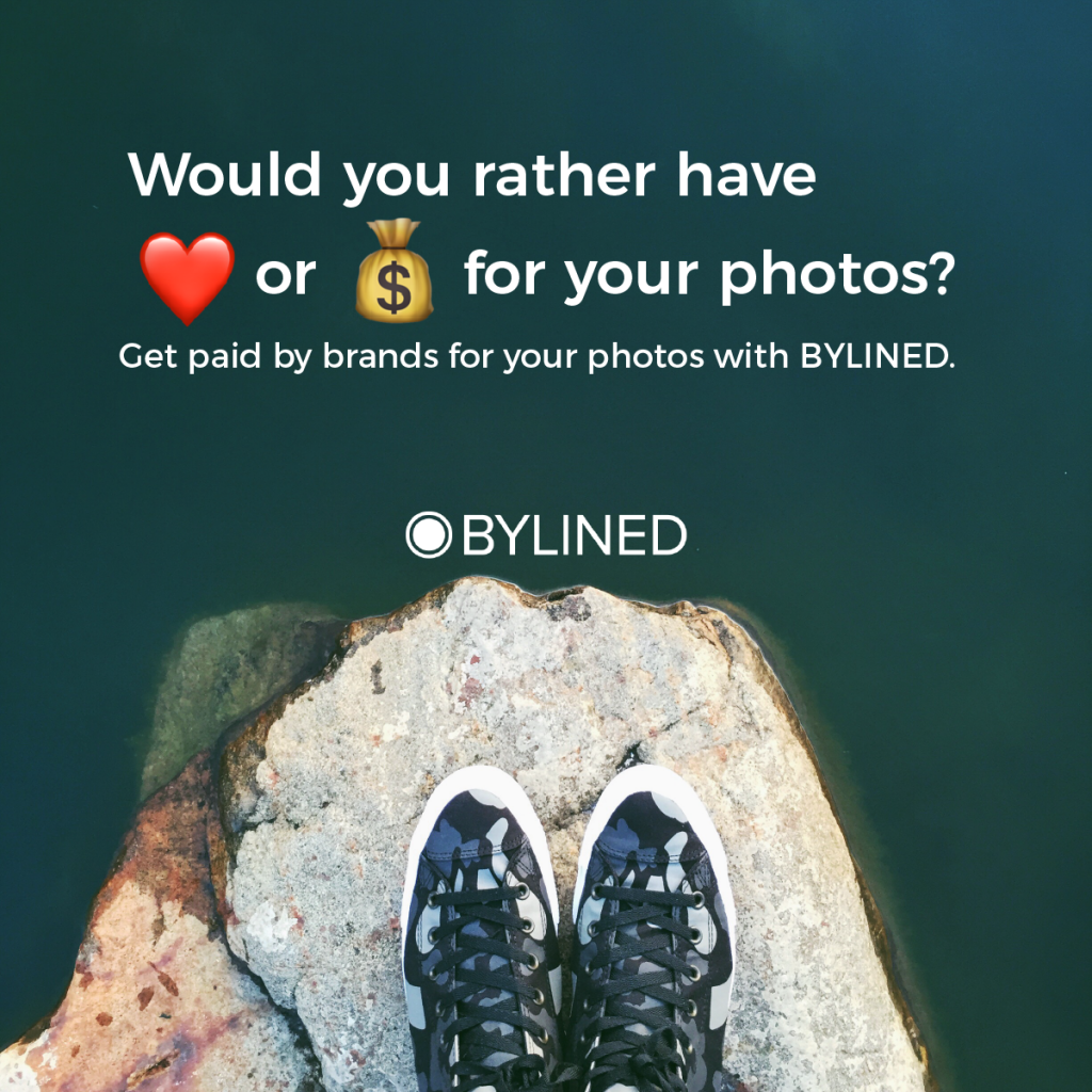 UGC, user-generated content, get paid for your photos